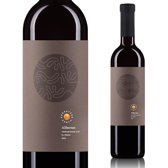 【再入荷/大人気ワイン】【スロバキアワイン専門】カルパツカ・ペルラ ヴァリエト アリバーネット 赤ワイン/フルボディ【プレゼント包装可能】