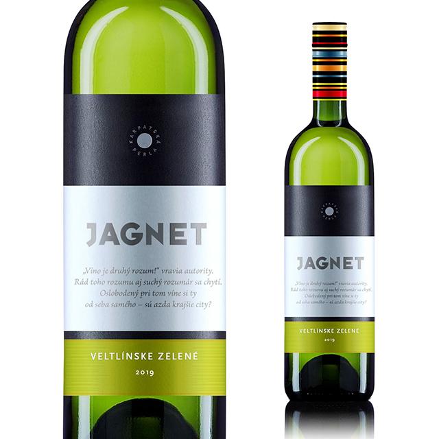 【再入荷】【スロバキアワイン専門】ヤグネット ヴェルトリンスケ・ゼレネ 《JAGNET Veltlinske Zelene》  [Karpatska Perla] 白・すっきり辛口【プレゼント包装可能】