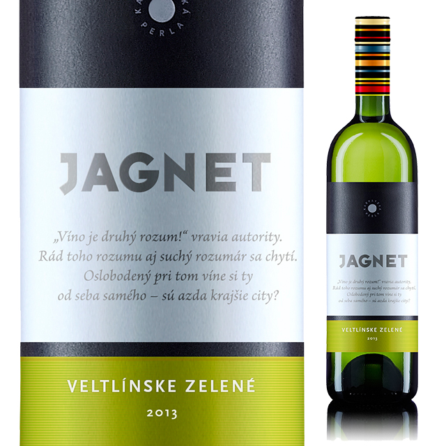 【スロバキアワイン】ヤグネット ヴェルトリンスケ・ゼレネ 《JAGNET Veltlinske Zelene》  [Karpatska Perla] 白・すっきり辛口【プレゼント包装可能/熨斗等の対応可能】