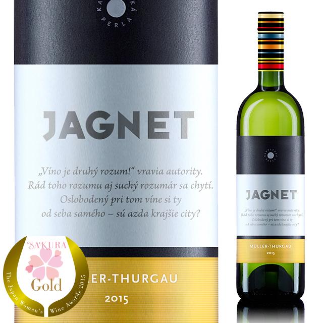 【スロバキアワイン】ヤグネット ミュラー・トゥルガウ 《JAGNET Muller-Thurgau》 [Karpatska Perla] 750ml 白・果実味しっかり辛口【プレゼント包装可能/熨斗等の対応可能】