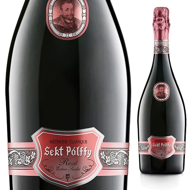 【スロバキアワイン専門】セクト・パルフィ・エクストラ・ドライ・ロゼ 《Sekt Palffy Extra Dry Rose》  【スロバキアワイン】泡・ロゼ・華やかなやや辛口【プレゼント包装可能/熨斗等の対応可能】