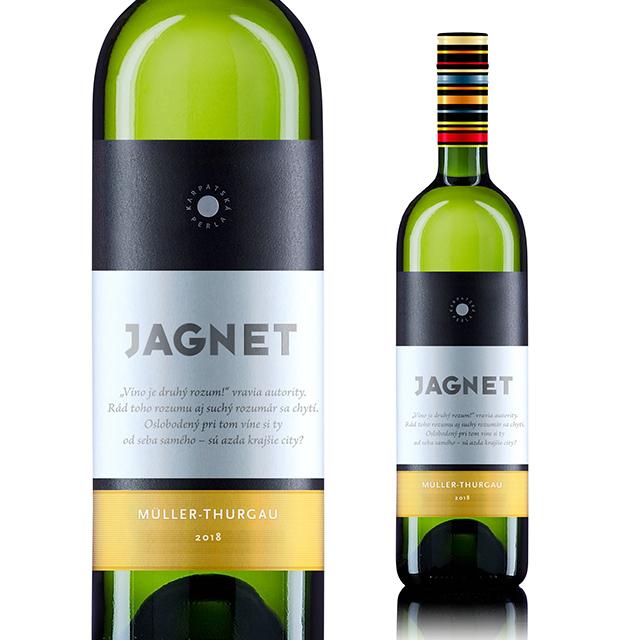 【再入荷】【スロバキアワイン専門】ヤグネット ミュラー・トゥルガウ 《JAGNET Muller-Thurgau》 [Karpatska Perla] 750ml 白・果実味しっかり辛口【プレゼント包装可能】