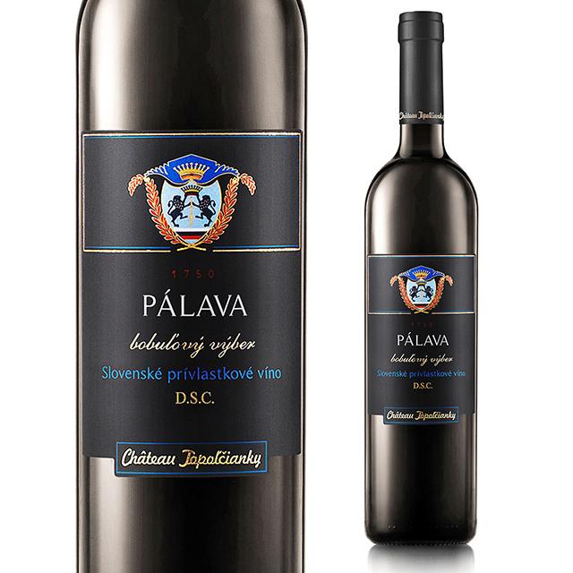 【再入荷/大人気デザートワイン】【【スロバキアワイン専門】シャトー・トポロチアンキースウィート・パーラヴァ 《PALAVA 》 白・爽やかな甘口・500ml【プレゼント包装可能】