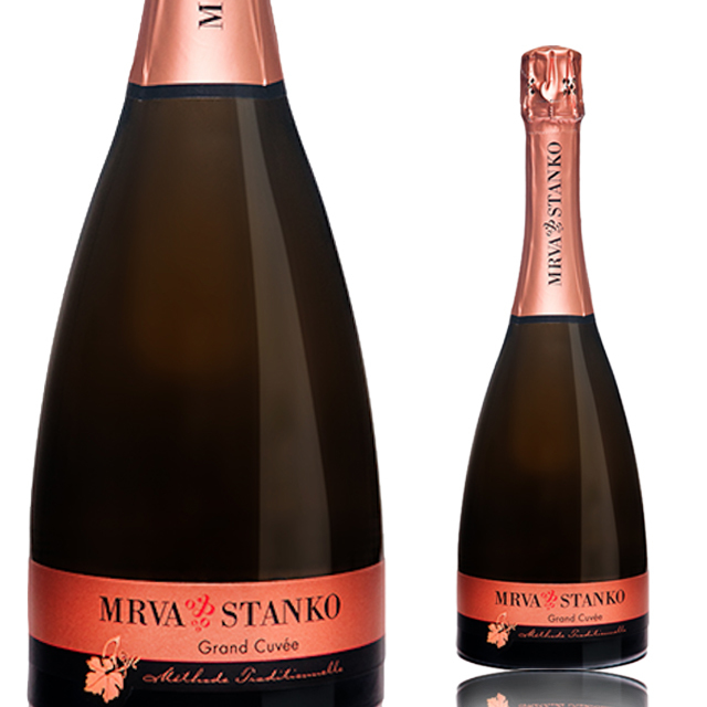 【再入荷/夏の必須アイテム】【スロバキアワイン専門】セクト・グランキュヴェ  《Sekt Grand Cuvee》 【Mrva&Stanko】スパークリング/泡・白・リッチな辛口【プレゼント包装可能】