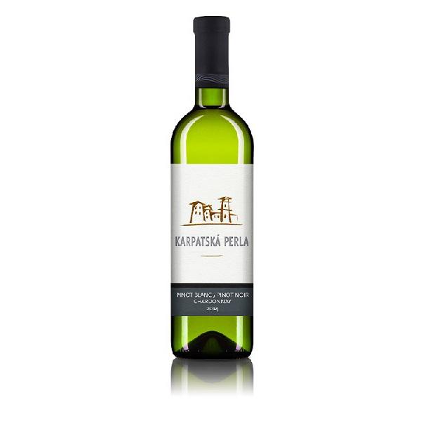 【スロバキア産】白ワイン ピノ・ブラン/ピノ・ノワール/シャルドネ  [Karpatska Perla] 750ml