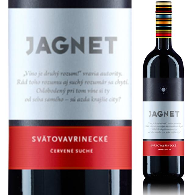 【スロバキアワイン専門】ヤグネット スヴァトヴァヴリンツケ 《JAGNET SVATOVAVRINECKE》 【スロバキアワイン】赤・しっかり飲めるミディアム【プレゼント包装可能/熨斗等の対応可能】
