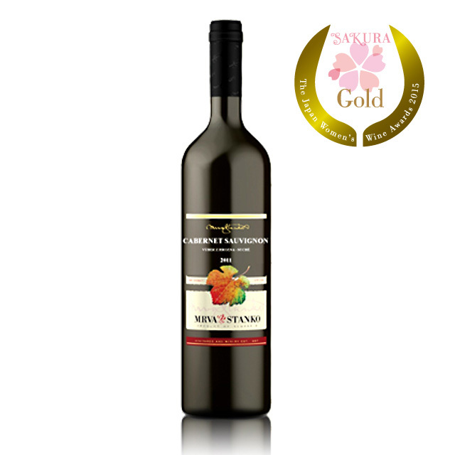 ムルヴァさんのカベルネ・ソーヴィニヨン 《Cabernet Sauvignon》 【スロバキアワイン】赤・高貴なフルボディ