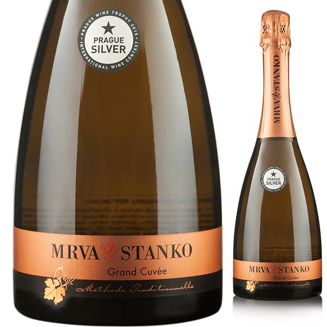 【スロバキアワイン専門】セクト・グランキュヴェ 2015 《Sekt Grand Cuvee 2015》 【Mrva&Stanko】泡・白・リッチな辛口【プレゼント包装可能/熨斗等の対応可能】