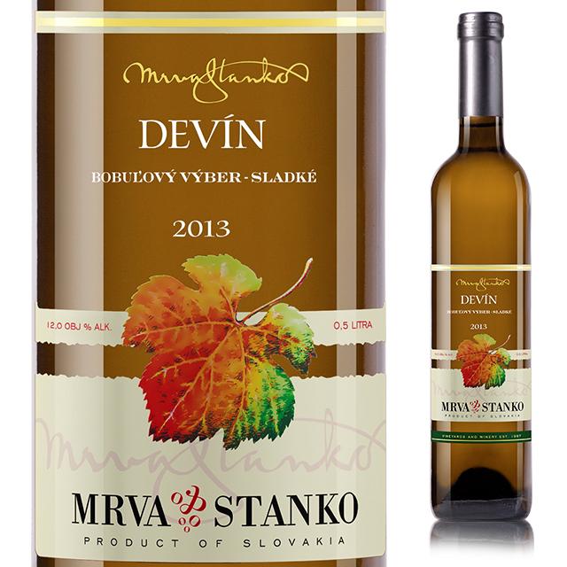【スロバキアワイン専門】甘口デザートワイン・白ワイン デヴィーン 《Devin》 [Mrva&Stanko] 500ml【プレゼント包装可能/熨斗等の対応可能】