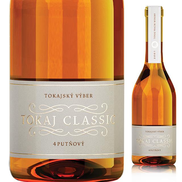 トカイ・クラシック・4プット 2003 《Tokaj Classic 4-put 2003》  【スロバキアワイン】貴腐・芳醇甘口 500ml