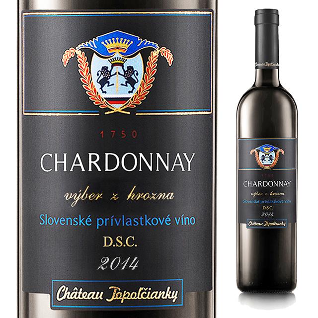 【スロバキアワイン専門】スウィート・シャルドネ500ml 《CHARDONNAY》  [Topolcianky]白・爽やかな甘口【プレゼント包装可能/熨斗等の対応可能】