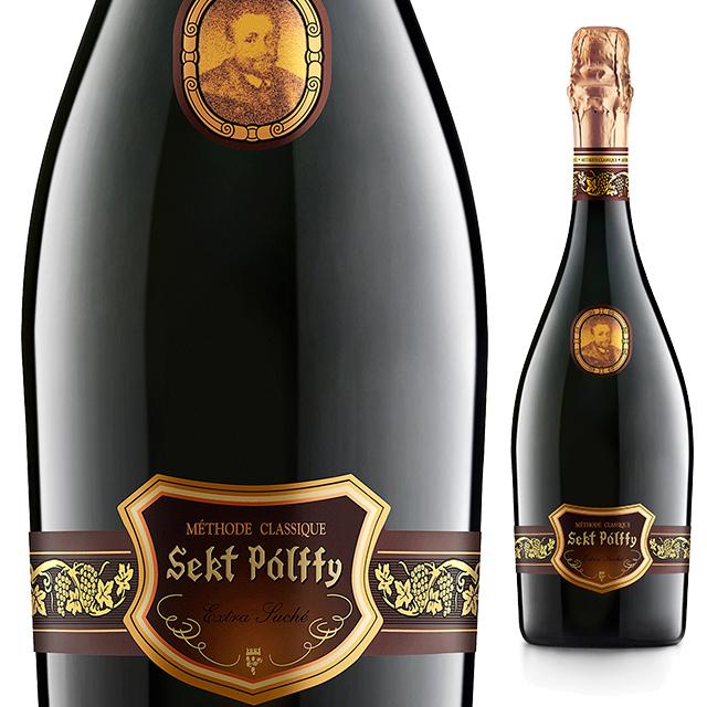 セクト・パルフィ・エクストラドライ 《Sekt Palffy  Extra Dry》 【スロバキアワイン】泡・白・癒しのやや辛口【プレゼント包装可能/熨斗等の対応可能】