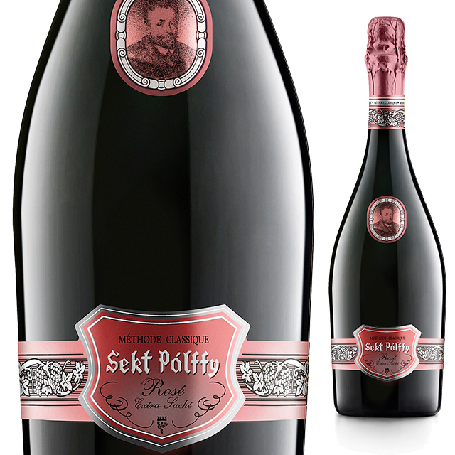 セクト・パルフィ・エクストラ・ドライ・ロゼ 《Sekt Palffy Extra Dry Rose》  【スロバキアワイン】泡・ロゼ・華やかなやや辛口【プレゼント包装可能/熨斗等の対応可能】