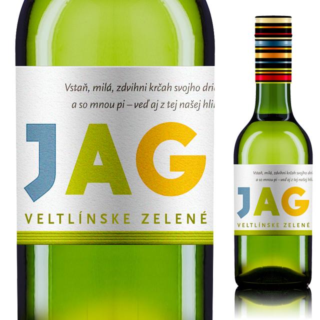 【スロバキアワイン専門】白ワイン お試しサイズ!ヤグネット・ヴェルトリンスケ・ゼレネ《JAGNET Veltlinske Zelene》250ml【プレゼント包装可能/熨斗等の対応可能】
