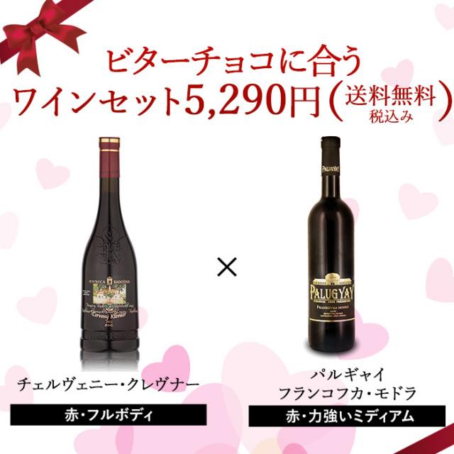 ビターチョコに合うワインセット【送料無料・税込】