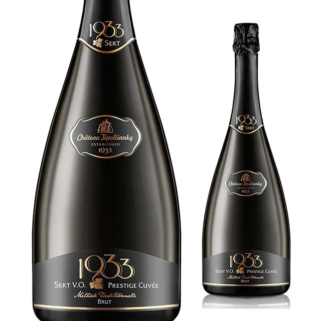 【スロバキアワイン専門】セクト・1933・プレステージキュヴェ・ブリュット 750ml 《Sekt・1933・PrestageCuvee・Brut》 [Topolcianky] 泡・辛口【プレゼント包装可能/熨斗等の対応可能】