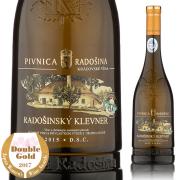 【スロバキアワイン専門】ラドシンスキー・クレヴナー2015 《Radosinsky Klevner 2015》 [Pivnica Radosina] 【プレゼント包装可能/熨斗等の対応可能】
