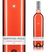 【スロバキアワイン専門】カルパツカ・ペルラ カベルネ・ソーヴィニヨン ロゼ 2015【プレゼント包装可能/熨斗等の対応可能】