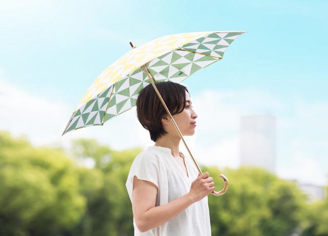 手ぬぐい日傘 - hirali -