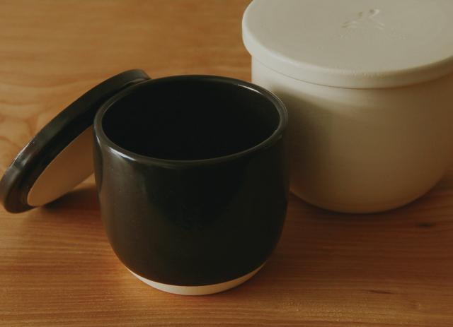 陶の飯びつ(おひつ)  - かもしか道具店 -