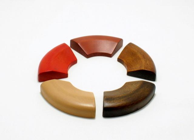 箸置「輪」 拭漆仕上げ -輪島キリモト-