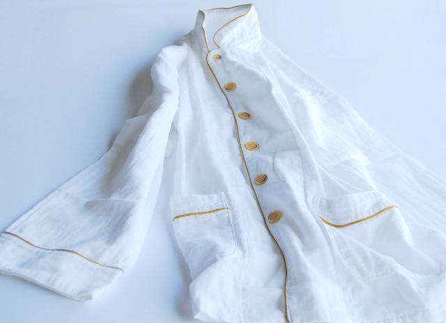 京和晒綿紗 パジャマ