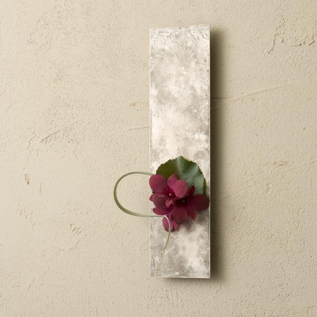銅器着色の花器 「on the wall」 - モメンタムファクトリーOrii -
