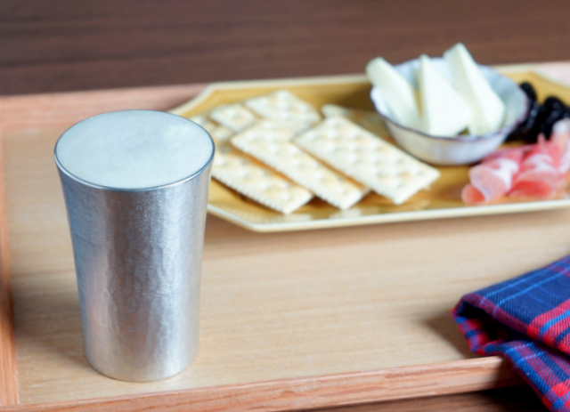 錫製のタンブラー スタンダード  -大阪錫器-
