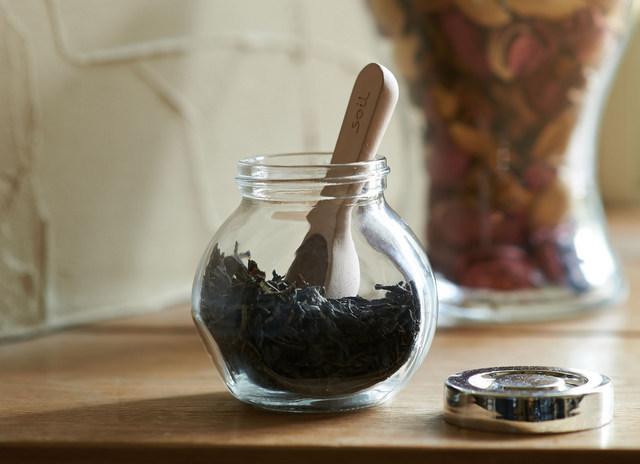珪藻土の茶さじ -soil-