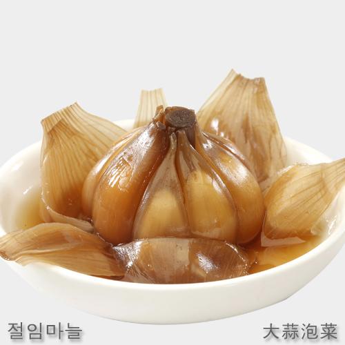 【三口一品】単品 にんにくの醤油漬け215g