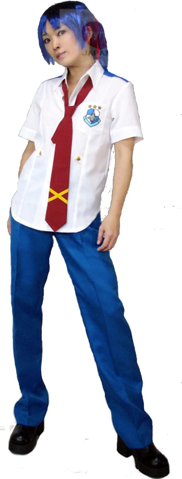 マクロスF 美星学園 男子制服 コスプレ衣装 Sサイズ ネクタイ2枚【アルト・ミハエル】セット