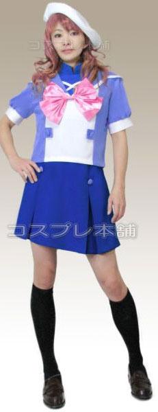マクロスF シェリル・ノーム 美星学園制服 コスプレ衣装 ベレー帽セット