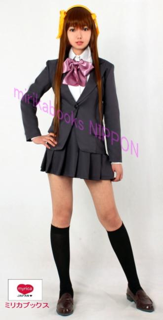 劇場版 涼宮ハルヒの消失 光陽園学院制服 コスプレ衣装