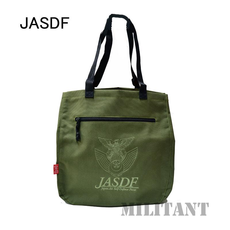航空自衛隊徽章 トートバッグ OD