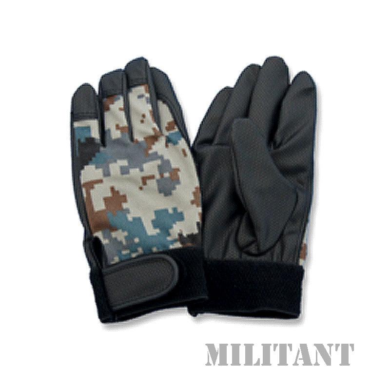 オールラウンド航空デジタル迷彩手袋