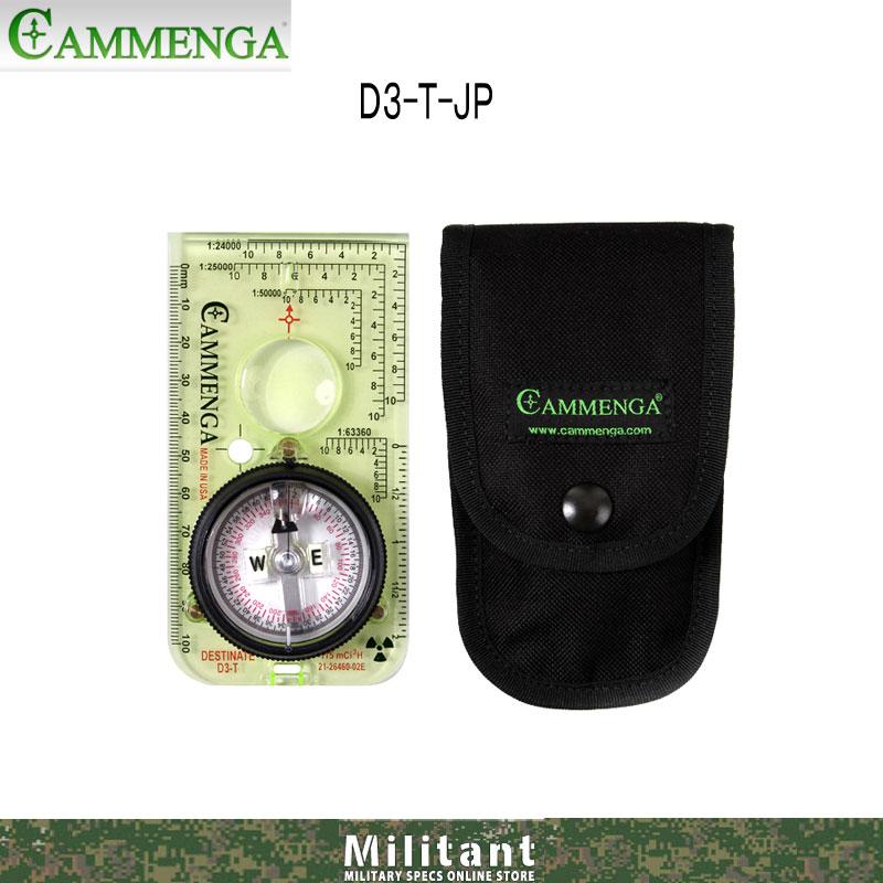 CAMMENGA社 トリチウムベースプレートコンパス D3-T-JP