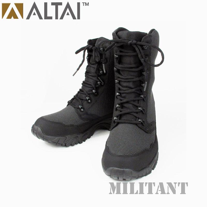ALTAI GEAR アルタイギア スーパーファブリックタクティカル トールブーツ ブラック