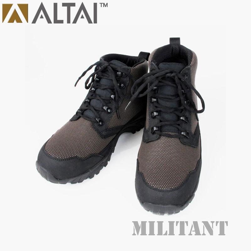 ALTAI GEAR アルタイギア スーパーファブリックタクティカル ショートブーツ ダークブラウン