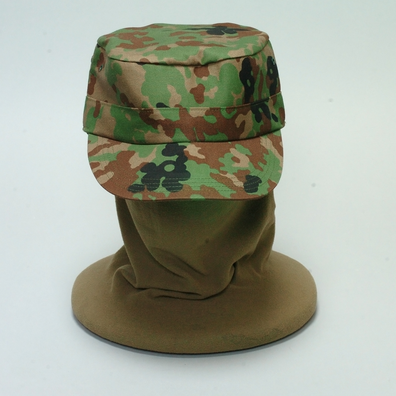 迷彩作業帽 (丸天)
