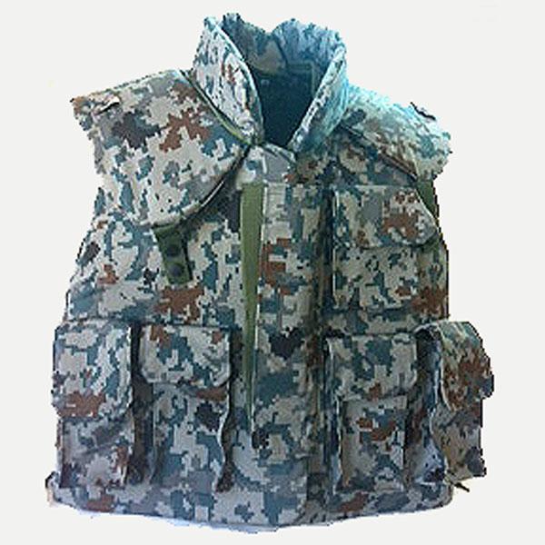 航空自衛隊 デジタル迷彩防弾ベスト(レプリカ)襟カバー付