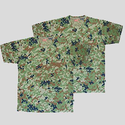 在庫一掃整理セール ジェットファイン 迷彩半袖T-シャツ(二枚組)