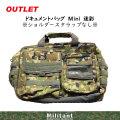 【訳ありアウトレット】ドキュメントバッグ Mini 迷彩