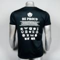 徽章 BE PROUD Tシャツ