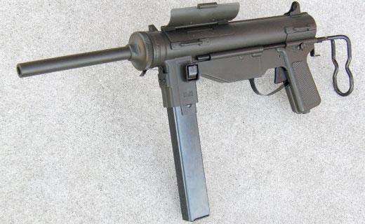 クラフトアップル 発火モデルガン ハドソン リバイバル「M3A1 Grease Gun」 グリースガン エアガン エアーガン