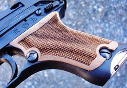 クラフトアップル ウッドグリップ 九四式自動拳銃用 エアガン エアーガン