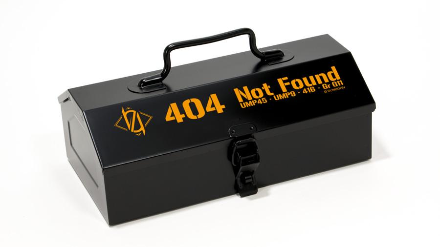 グルーヴガレージ ドールズフロントライン 404小隊 山型ツールボックス エアガン エアーガン