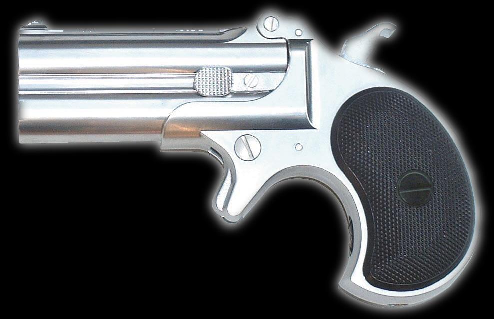 マルシン ダブルデリンジャー 6mmBBカートリッジ仕様 シルバーABS エアガン エアーガン ガスガン