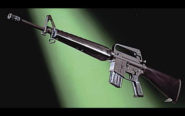 マルシン モデルガン 組立キット コルト・M16A1 ブラック [エアガン/エアーガン]
