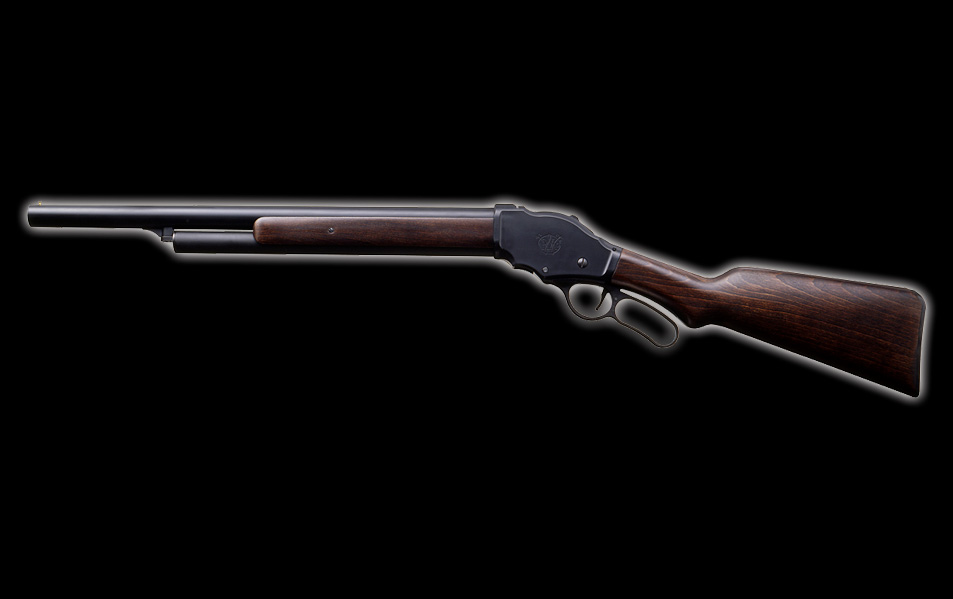 マルシン M1887 ガーズガン 木製ストックバージョン・6mmBB