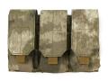 ライラクス GHOST GEAR M4/16トリプルマガジンパウチ ATカモフラージュ [エアガン/エアーガン]